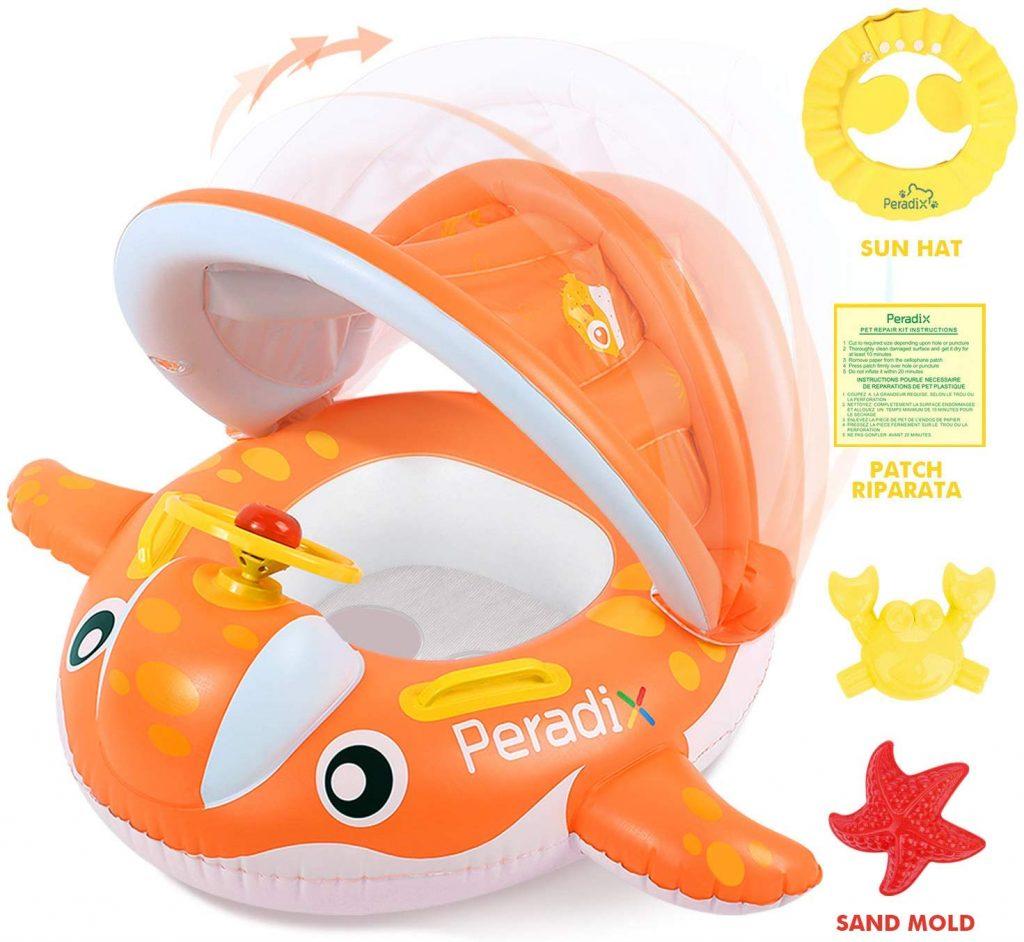 comprar flotador recién nacido antivuelco