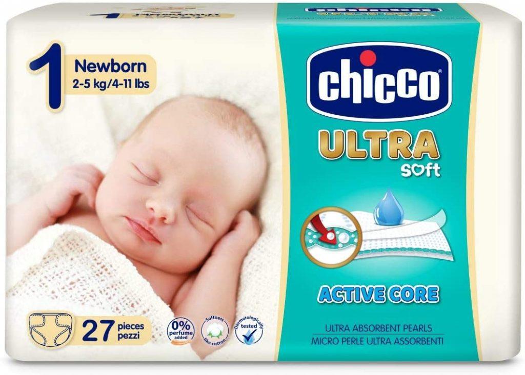 Chicco Ultra Soft - Pack Ultra Absorbentes, Talla 1, 2-5 kg oferta rebajas precios rebajados