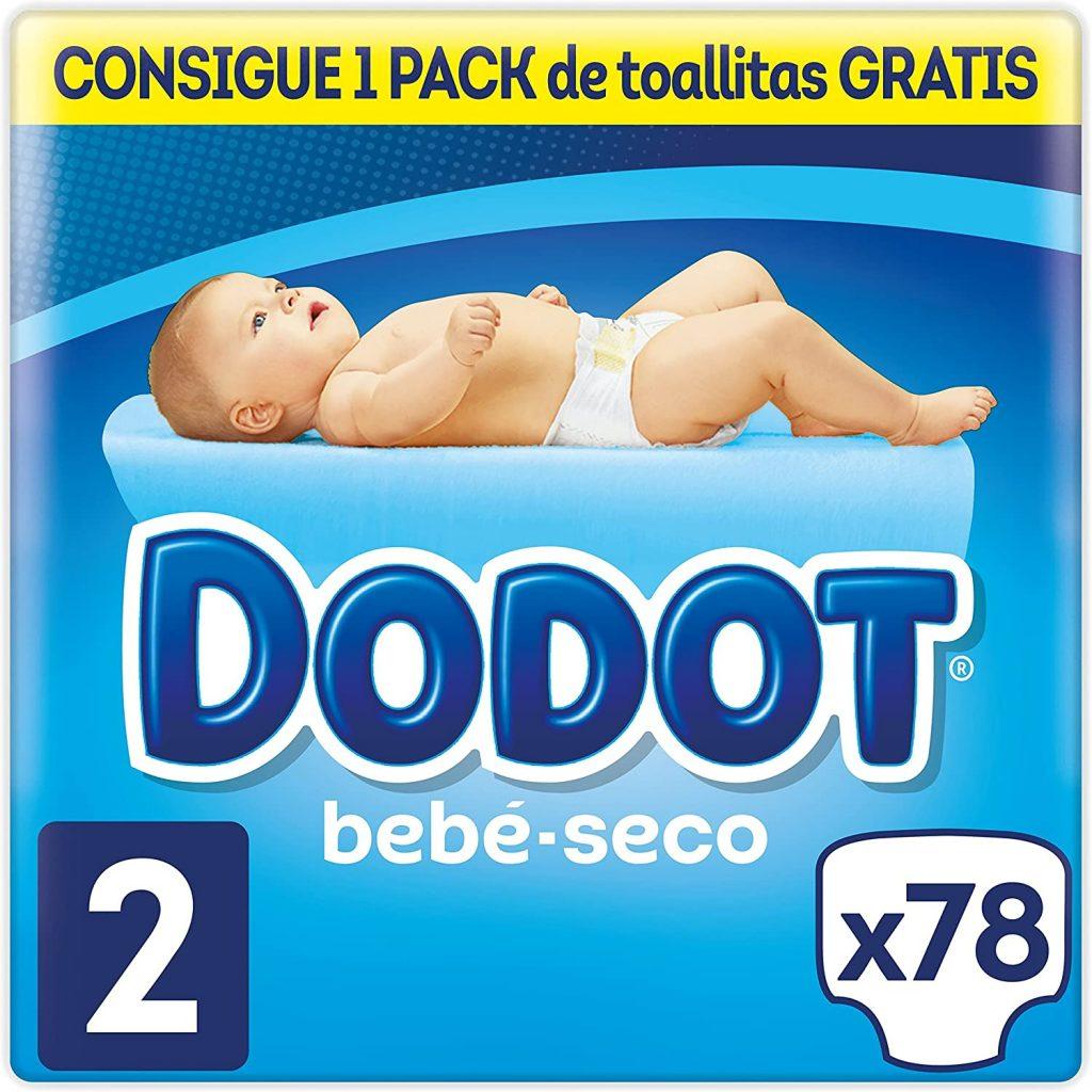comprar los Dodot Bebé-Seco Pañal Talla 2 la mejor descuento a precio bajos