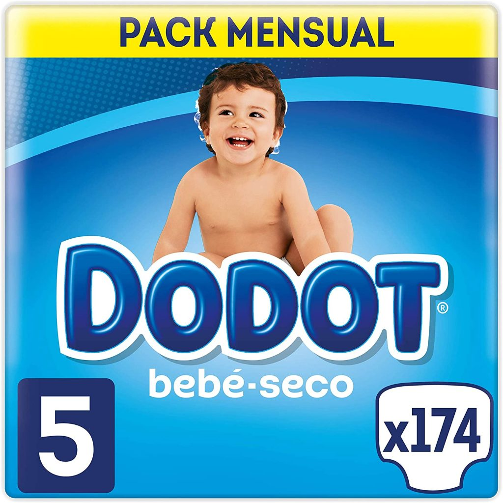 Dodot Bebé-Seco - Pañales, 11-16 kg, Talla 5 compra Los Pañales Talla 5, 13<18 Kg Más Vendidos