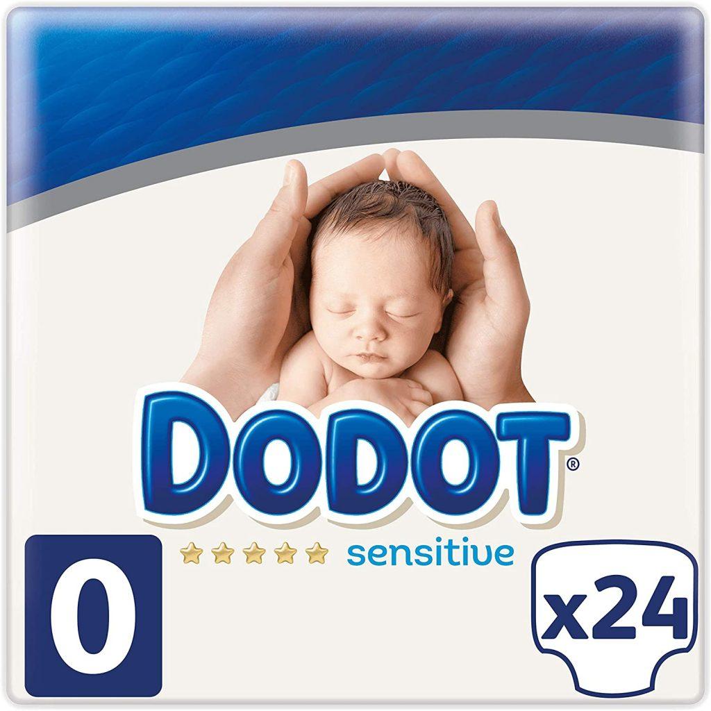 comprar pañales preamturos baratos Dodot Protection Plus Sensitive Pañales Talla 0 (1.5 - 2.5 kg)