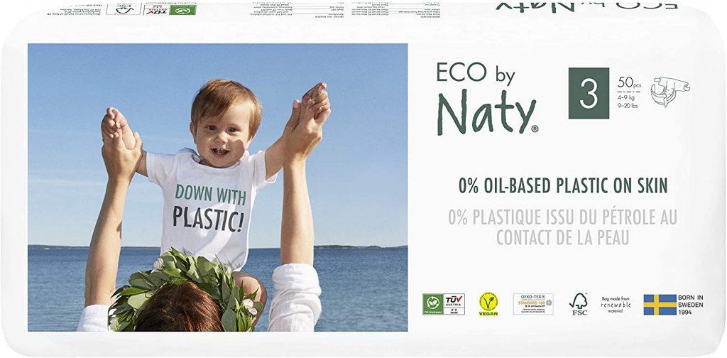 comprar pañales Eco By Naty Pañal Ecológico Premium Base de Fibras Vegetales