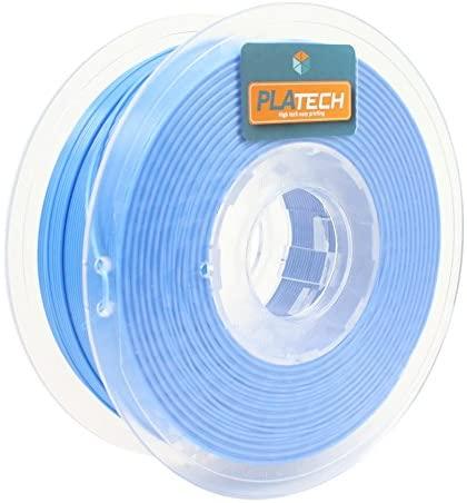 FFFworld 1kg PLA Tech Azul 1.75mm Filamento PLA 1.75