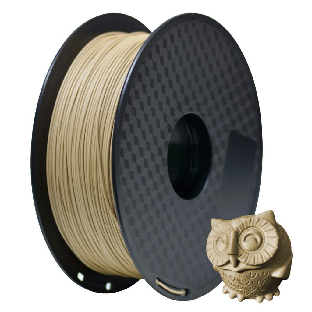 pla madera filamentos baratos de gran calidad para impresoras 3d