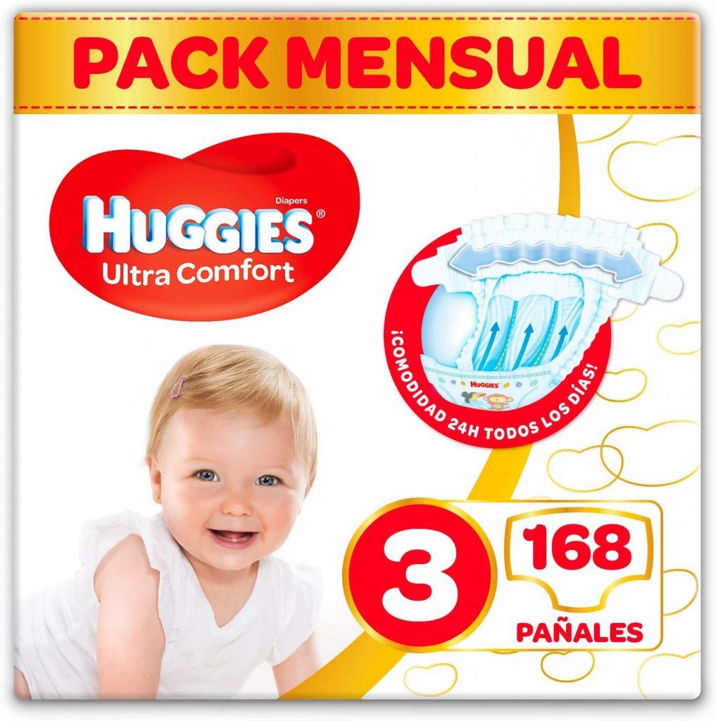 Mejor Relación Calidad-Precio Pañal Talla 3 Bebes Huggies Ultra Comfort