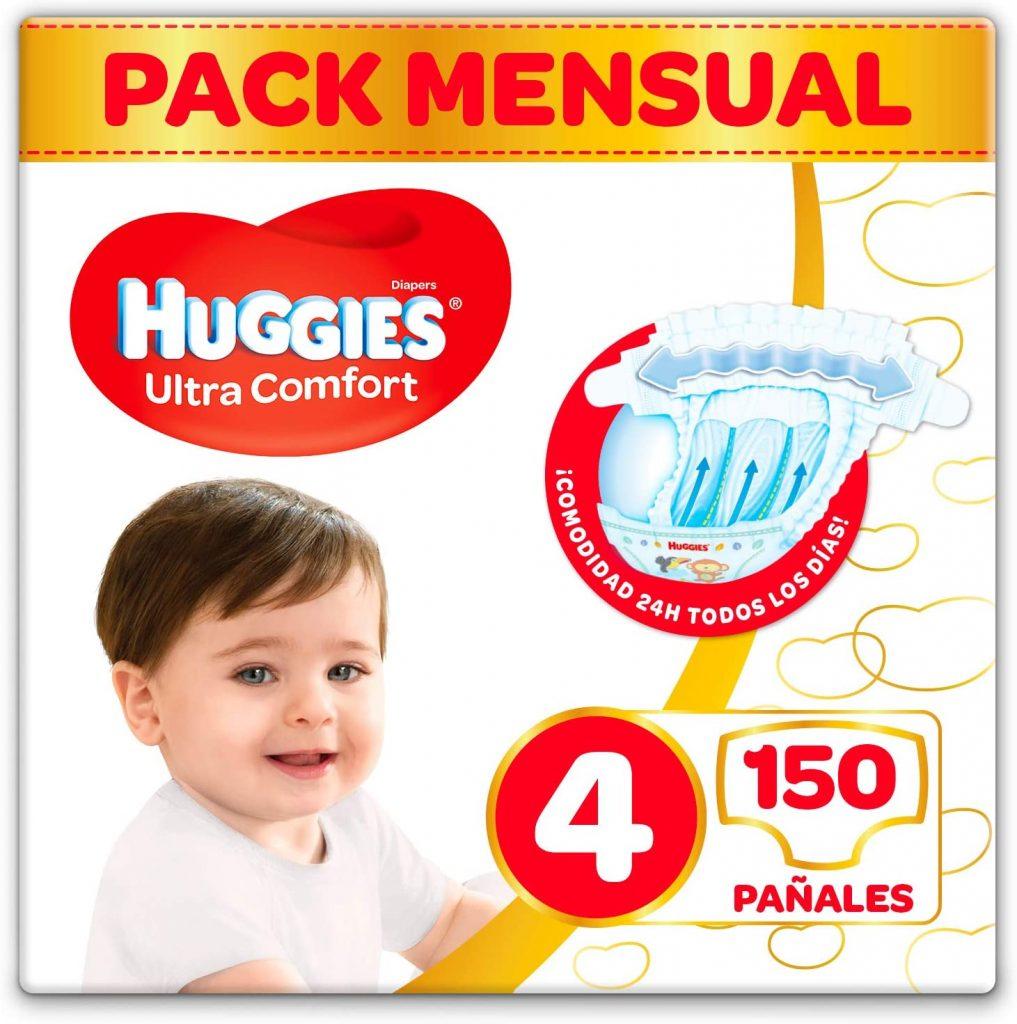 comprar Huggies Ultra Comfort Pañal Talla 4 (7-18 Kg) Más Vendidos