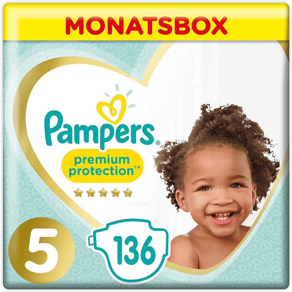 los pañales talla 5 de mas calidad Pampers - Protección Premium - Pañales Talla 5 (11-16 kg)