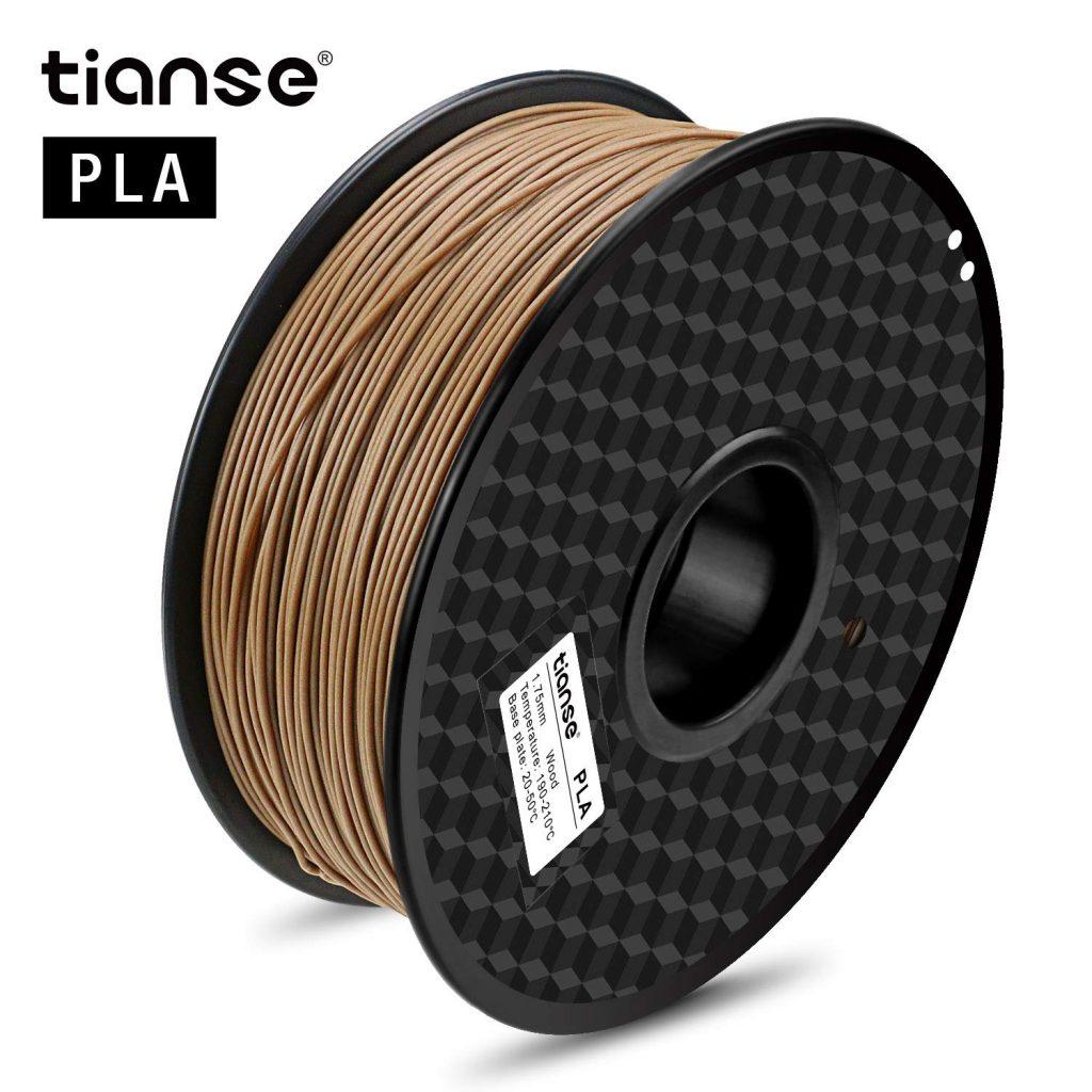 compra Filamentos PLA efecto madera baratos para makers y impresoras 3d