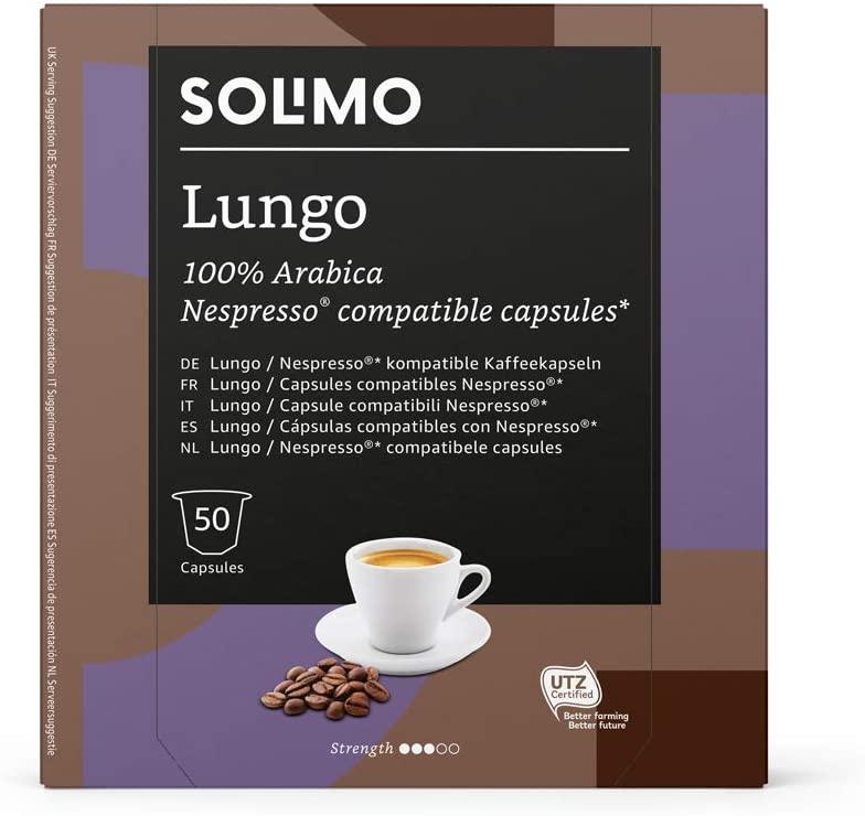 Marca_Amazon_Solimo_Cápsulas_Lungo_compatibles_Nespresso_