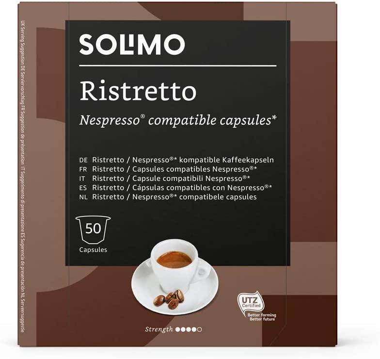 Marca_Amazon_Solimo_Cápsulas_Ristretto_compatibles_Nespresso