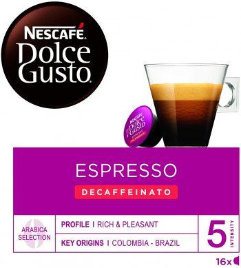 NESCAFÉ Dolce Gusto Café Espresso descafeinado
