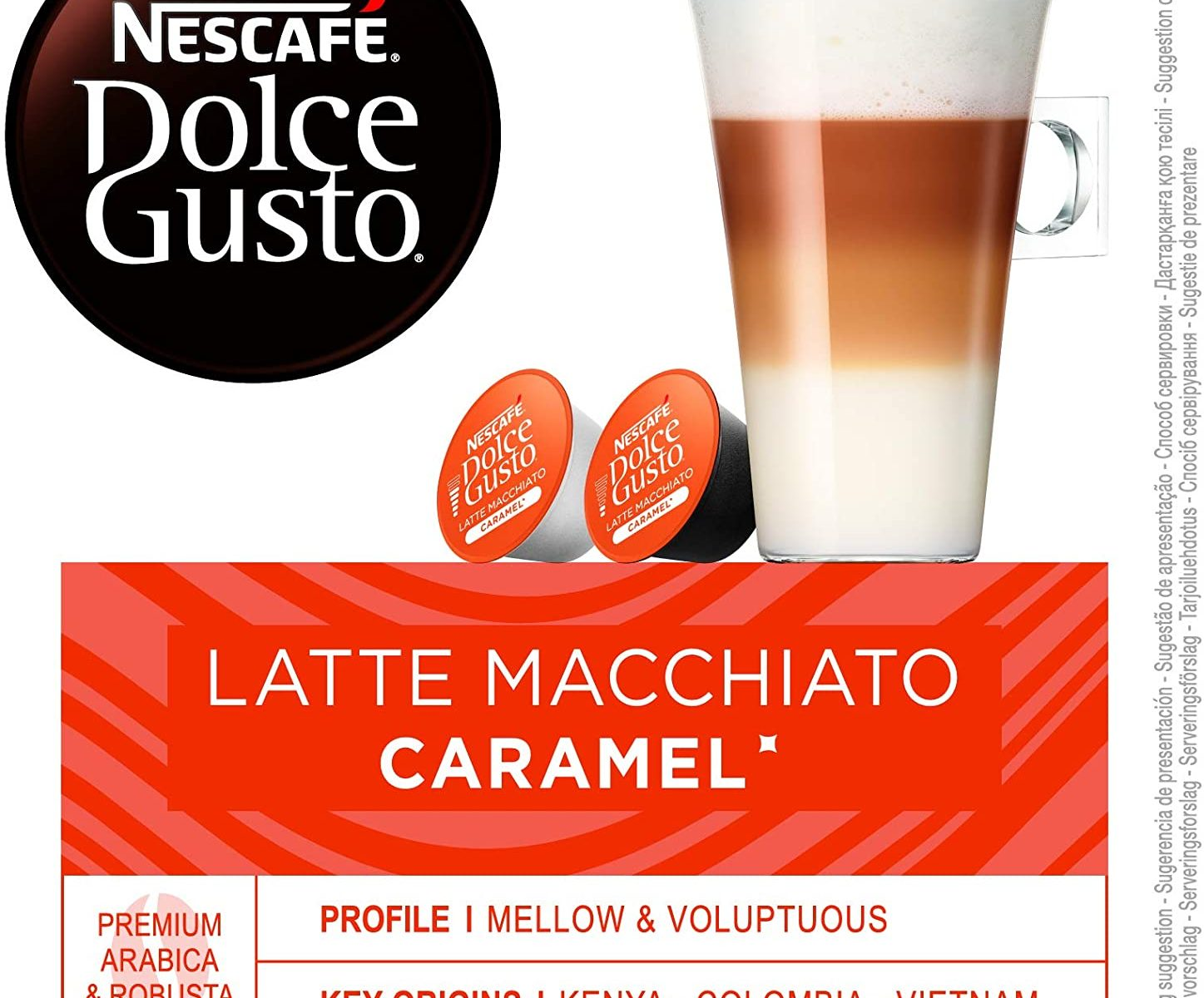 NESCAFÉ Dolce Gusto Latte Macchiato Caramel.