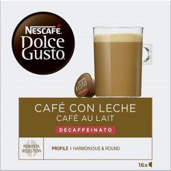 NESCAFÉ Dolce Gusto Café con Leche Descafeinado 16 cápsulas de café