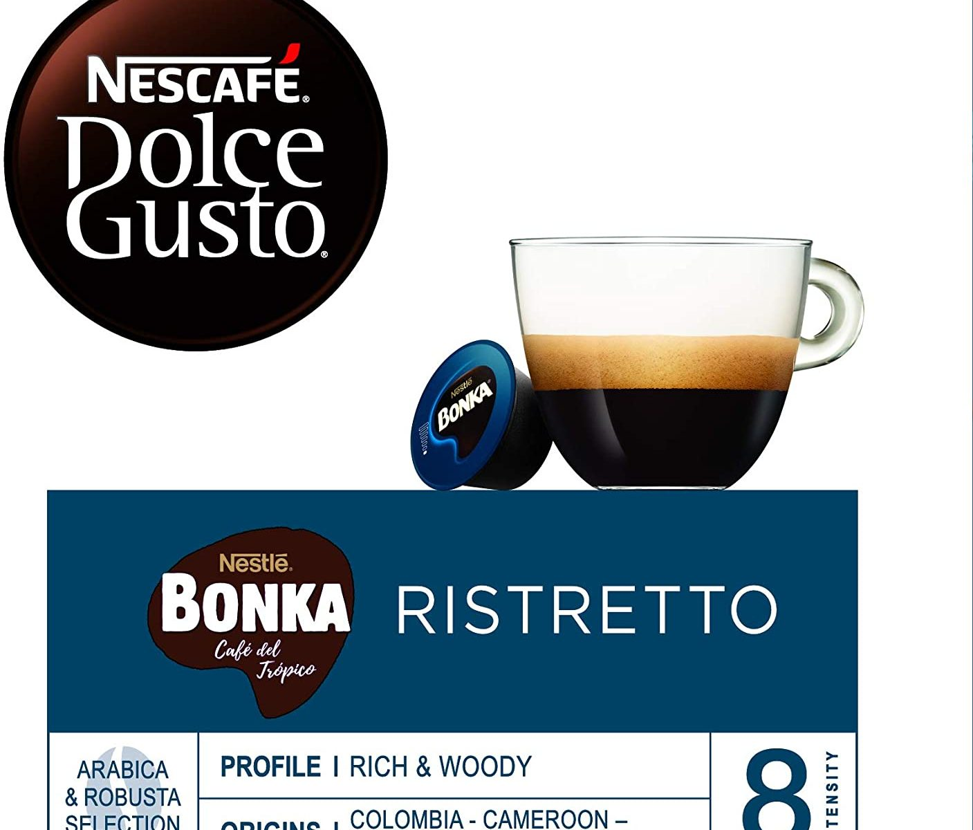 Nescafé DOLCE GUSTO Café BONKA.
