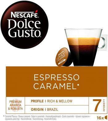 Nescafé DOLCE GUSTO Café ESPRESSO CARAMEL
