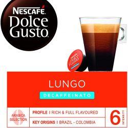 Nescafé DOLCE GUSTO Café LUNGO DESCAFEINADO