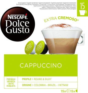 Nescafé DOLCE GUSTO Magnum Café CAPPUCCINO - Cápsulas de Café