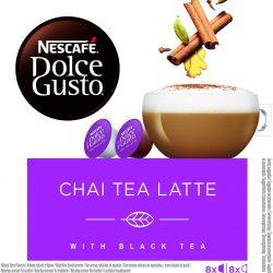 Nescafé DOLCE GUSTO té CHAI TEA LATTE.