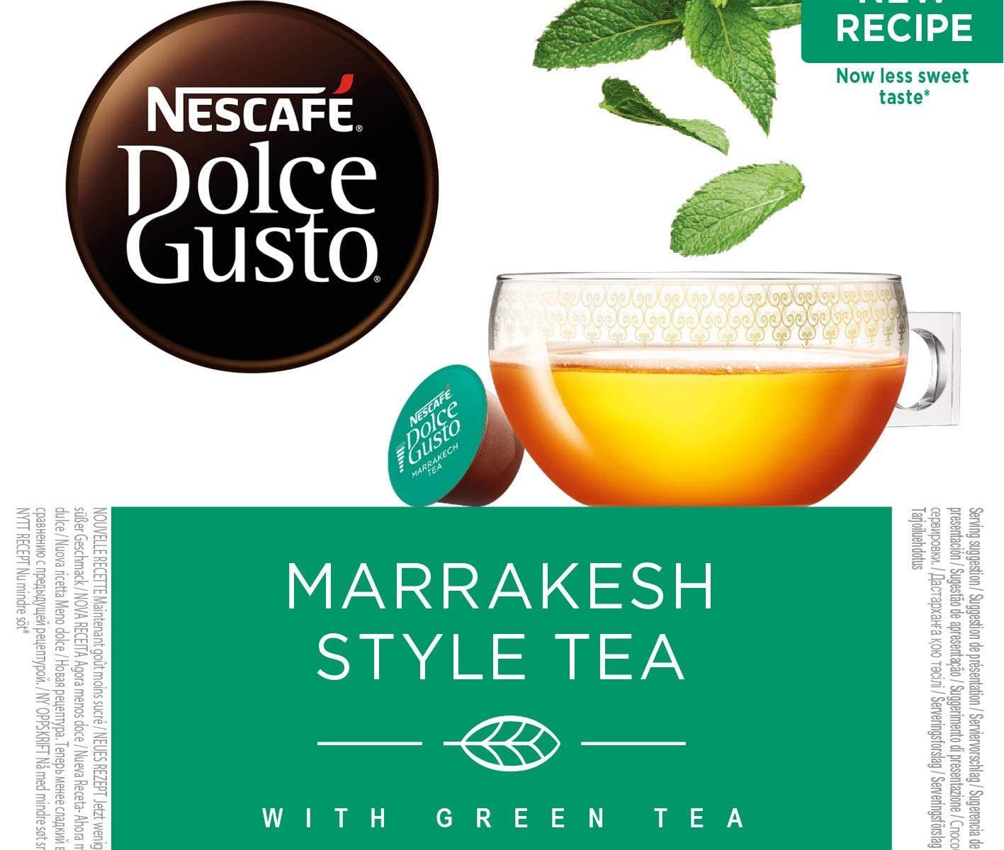Nescafé DOLCE GUSTO té MARRAKESH Style Tea