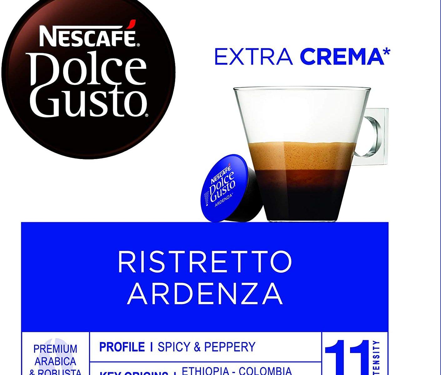 Nescafé Dolce Gusto Café molido de tueste natural - 112 gr