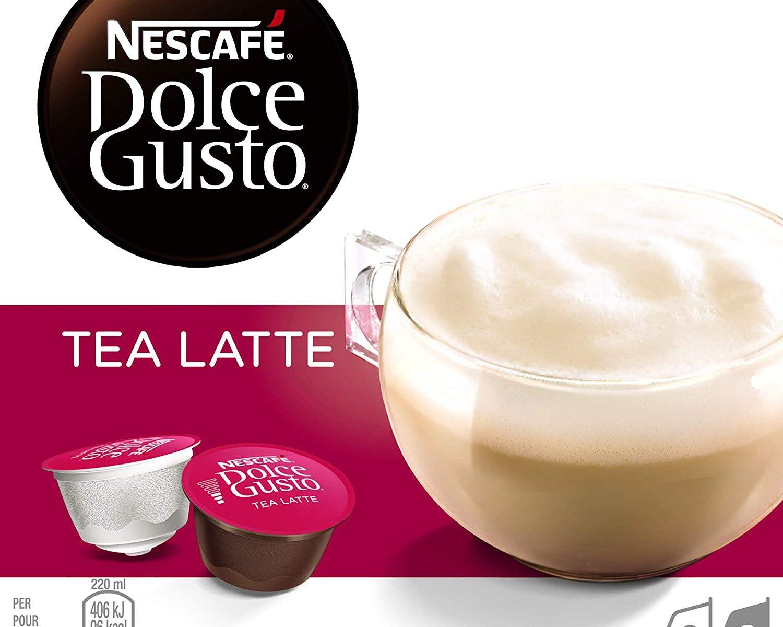 Nescafé Dolce Gusto Preparado de té en polvo, con leche en polvo y azúcar