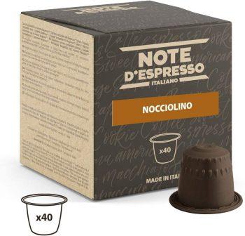 Note D'Espresso Cápsulas de Bebida Instantánea de Avellana