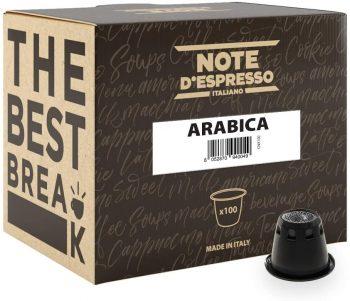 Note D'Espresso Cápsulas de Café Arábica