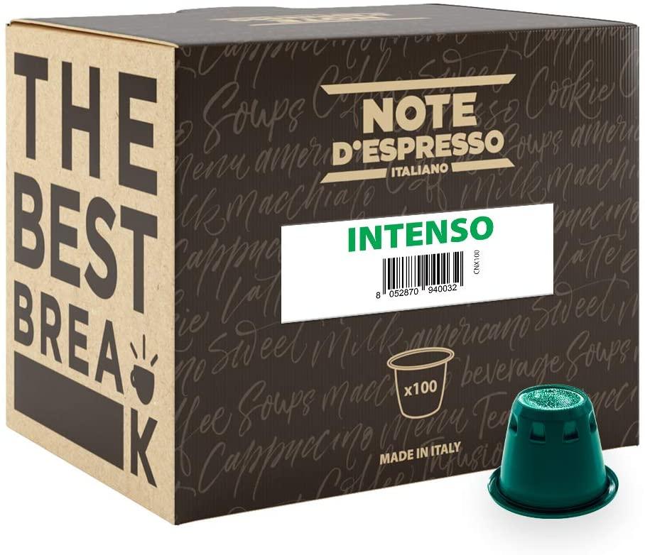 Note D'Espresso Cápsulas de Café Intenso