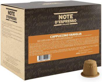 Note D'Espresso Cápsulas de Capuchino y Vainilla