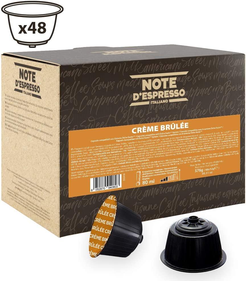 Note D'Espresso - Cápsulas de bebida de crème brûlée