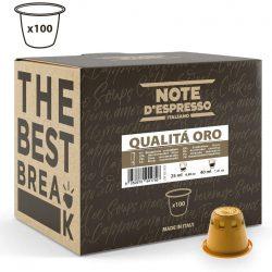 Note D'Espresso - Cápsulas de café Qualità Oro