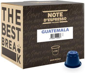 Note D'Espresso Cápsulas de café de Guatemala