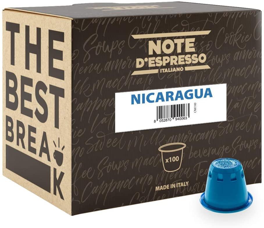 Note D'Espresso - Cápsulas de café de Nicaragua