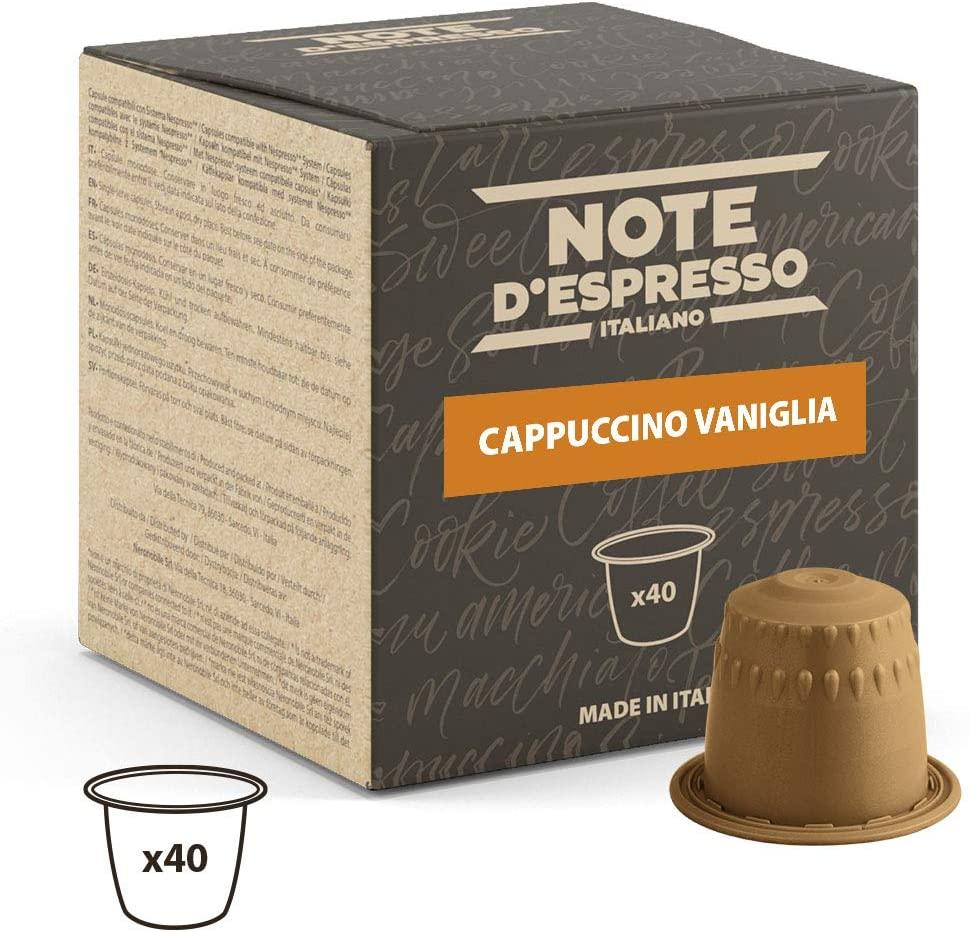 Note D'Espresso - Cápsulas de capuchino de vainilla