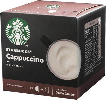 Starbucks Capuchino Nescafé Dolce Gusto