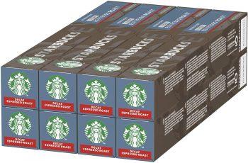 Starbucks Decafeinado Espresso Roast de NESPRESSO.
