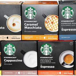 Starbucks Nescafé Dolce Gusto Juego de cápsulas de café
